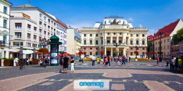 Piazza Hviezdoslav di Bratislava, guida all'Hviezdoslavovo Námestie