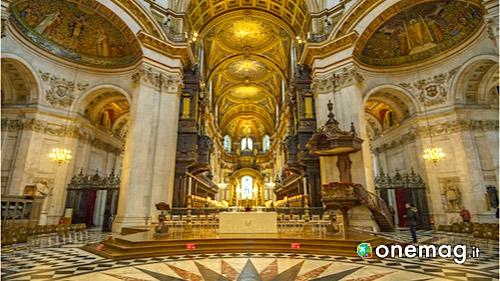 La Cattedrale di San Paolo di Londra, interni