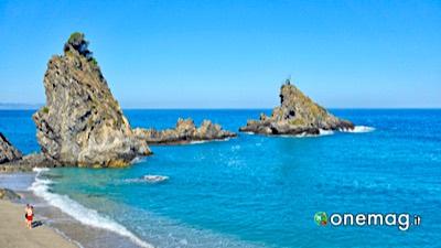 Le spiagge di Costa Viola