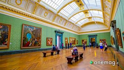 La National Gallery di Londra, esposizione interna