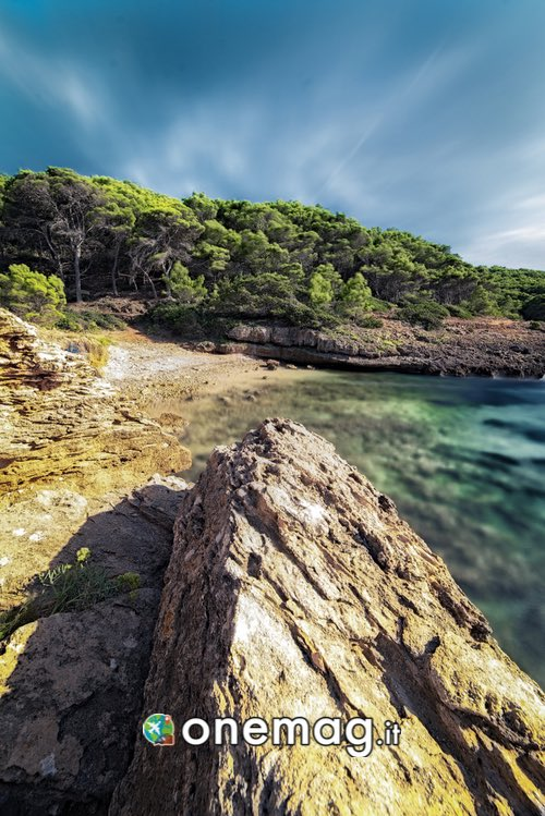 Cala Bramassa, litorale