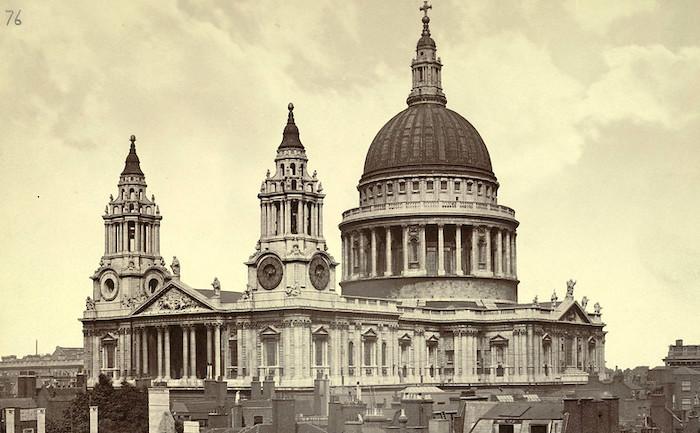 La Cattedrale di San Paolo di Londra, veduta storica