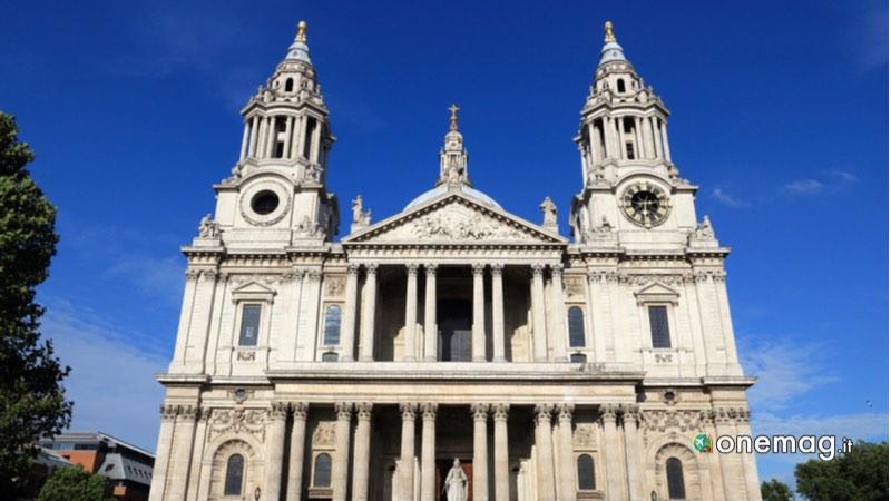 Cattedrale di San Paolo Londra, la facciata