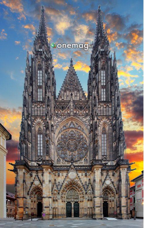 Facciata Cattedrale di San Vito, Praga