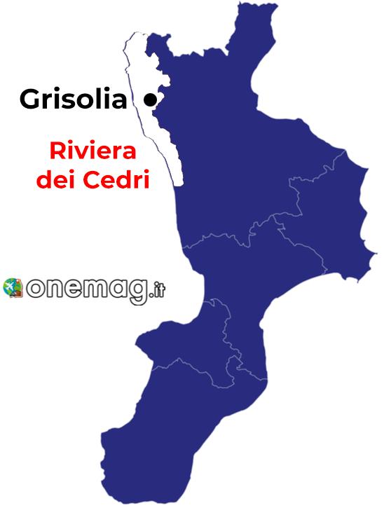 Grisolia, mappa