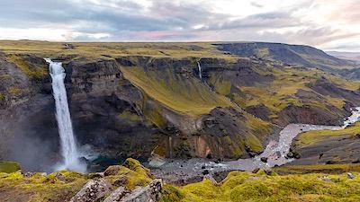 Le cascate dell'Islanda