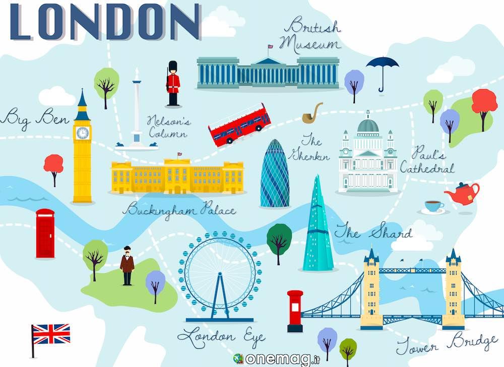 Cartina Turistica Londra Monumenti.Quartieri Di Londra Guida Ai Quartieri Della Capitale Inglese Onemag