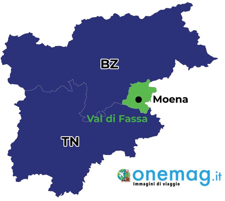 Mappa di Moema