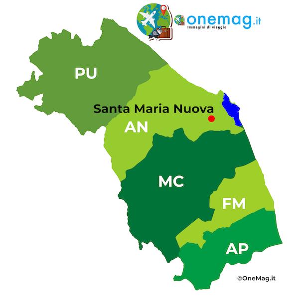 Mappa di Santa Maria Nuova