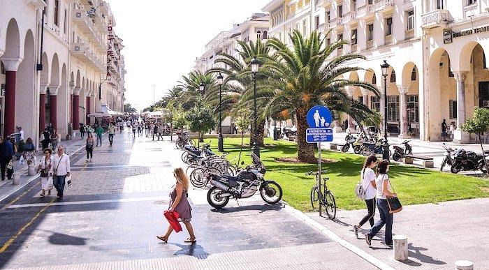 Cosa vedere a Salonicco, strada pedonale