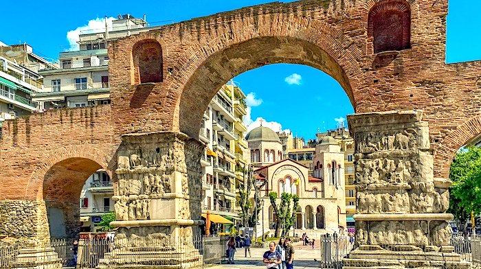 Cosa vedere a Salonicco, ingresso centro storico