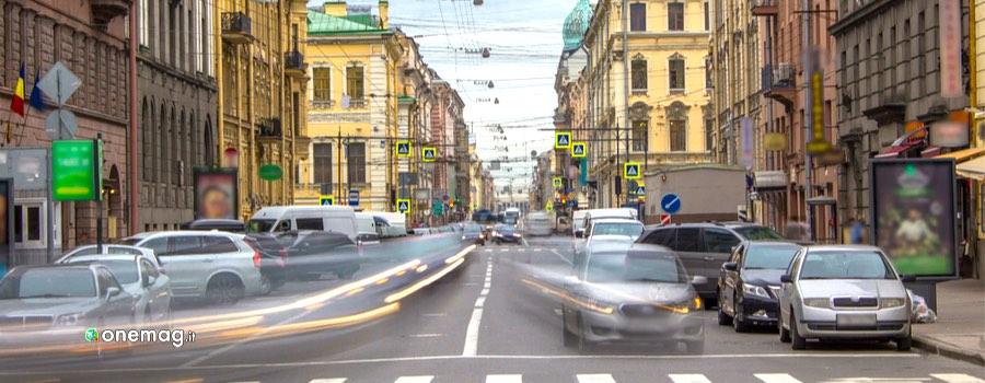 Muoversi a San Pietroburgo, traffico