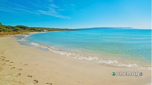 La Riviera del Corallo, Spiaggia Le Bombarde