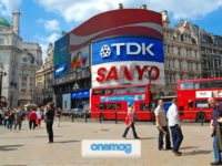 Guida a Piccadilly Circus, Londra