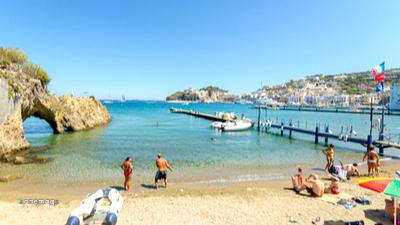 Cosa vedere a Ponza, spiaggia