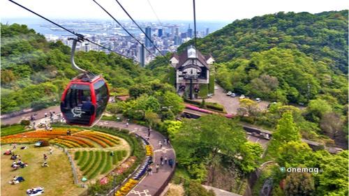 Cosa vedere a Kobe, funicolare per il Monte Rokko