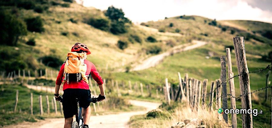 Le piste ciclabili in Liguria, percorso sterrato