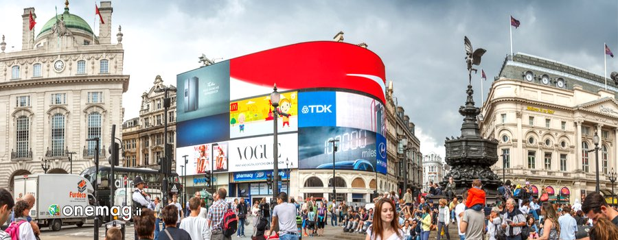 Cosa vedere a Londra, Piccadilly Circus panorama