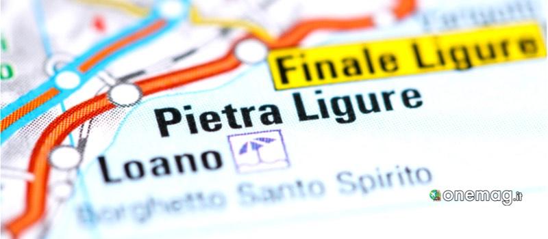 Cosa vedere a Pietra Ligure mappa