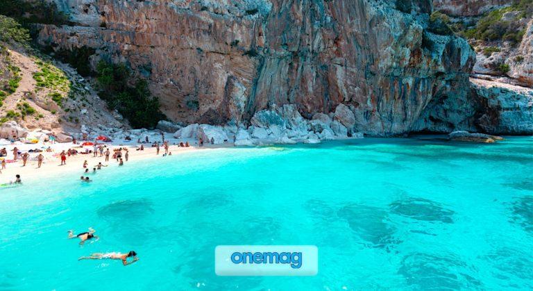 Le spiagge di Cala Gonone, Sardegna