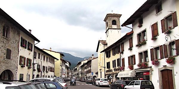 Cosa vedere a Tolmezzo, veduta centro storico