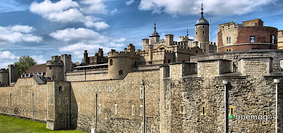 Cosa vedere nella Torre di Londra, edifici