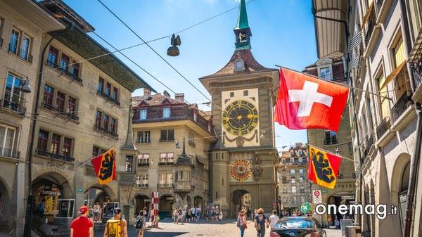 La Torre dell'Orologio di Berna dall'interno