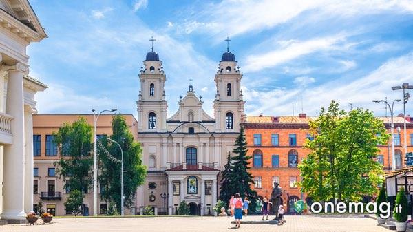 Cosa vedere a Minsk, Cattedrale santa vergine maria minsk