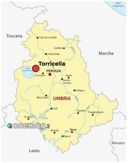 Mappa di Torricella