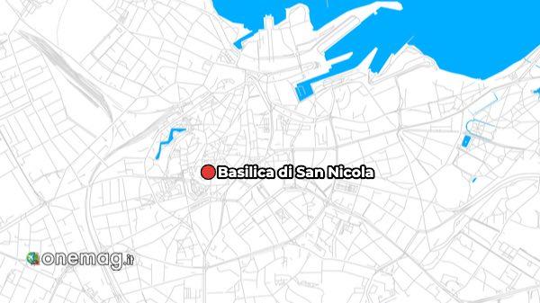 Mappa della Basilica di San Nicola di Tallinn