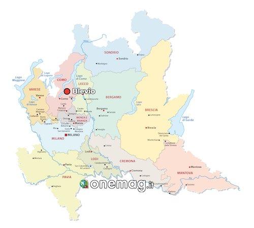 Mappa di Blevio