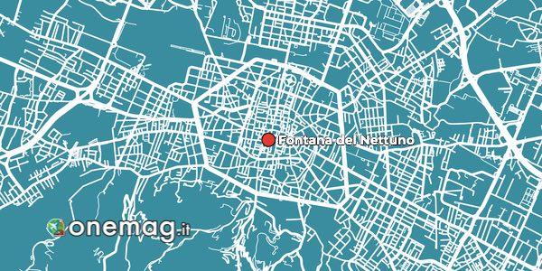 Mappa della Fontana del Nettuno