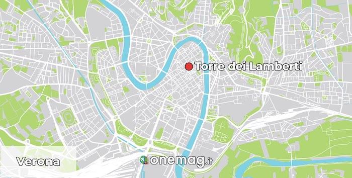 Mappa della Torre dei Lamberti