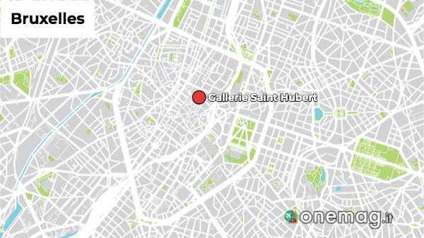 Mappa Gallerie Saint Hubert