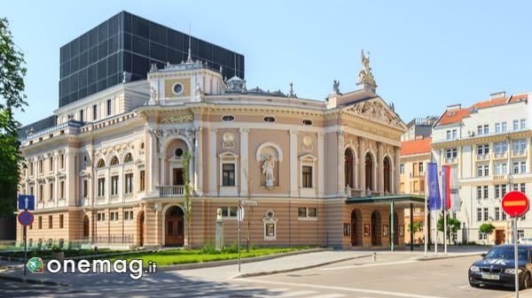 Descrizione del Teatro dell'Opera di Lubiana