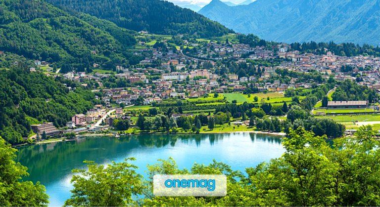 L'incantevole lago di Levico Terme