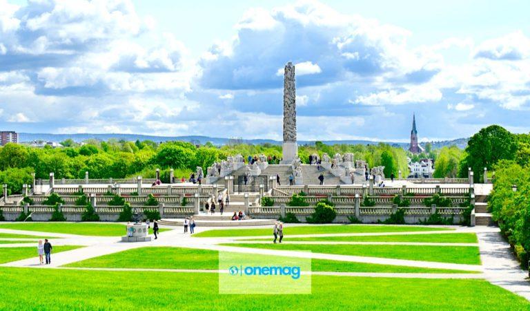Oslo   Il Parco delle sculture Gustav Vigeland