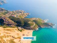 Spiagga di Torre dei Corsari, Sardegna, Costa Verde