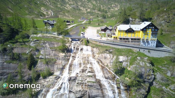 Visitare la cascata del Toce