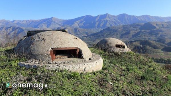 Cosa vedere in Albania, bunker militari
