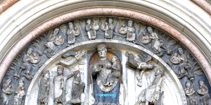 Battistero di Parma, particolare