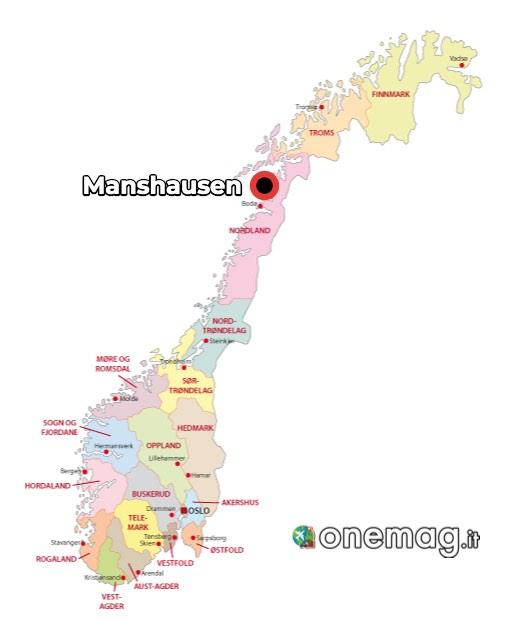 Mappa Mannshausen, Norvegia