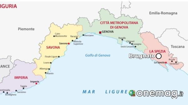 Mappa di Brugnato