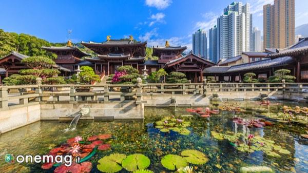 Panorama sul Giardino di Nan Lian, Hong Kong