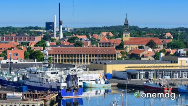 Panorama su Skagen, Danimarca