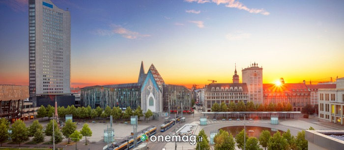 Cosa vedere a Lipsia, l'Augustusplatz
