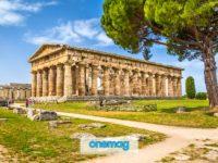 Paestum, l'area archeologica della Campania