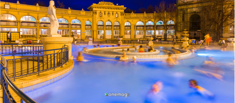 Cosa vedere a Budapest, Terme Szechenyi