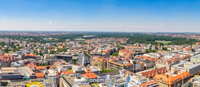 Cosa vedere a Lipsia, panorama