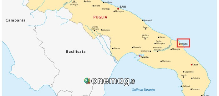Mappa di Brindisi